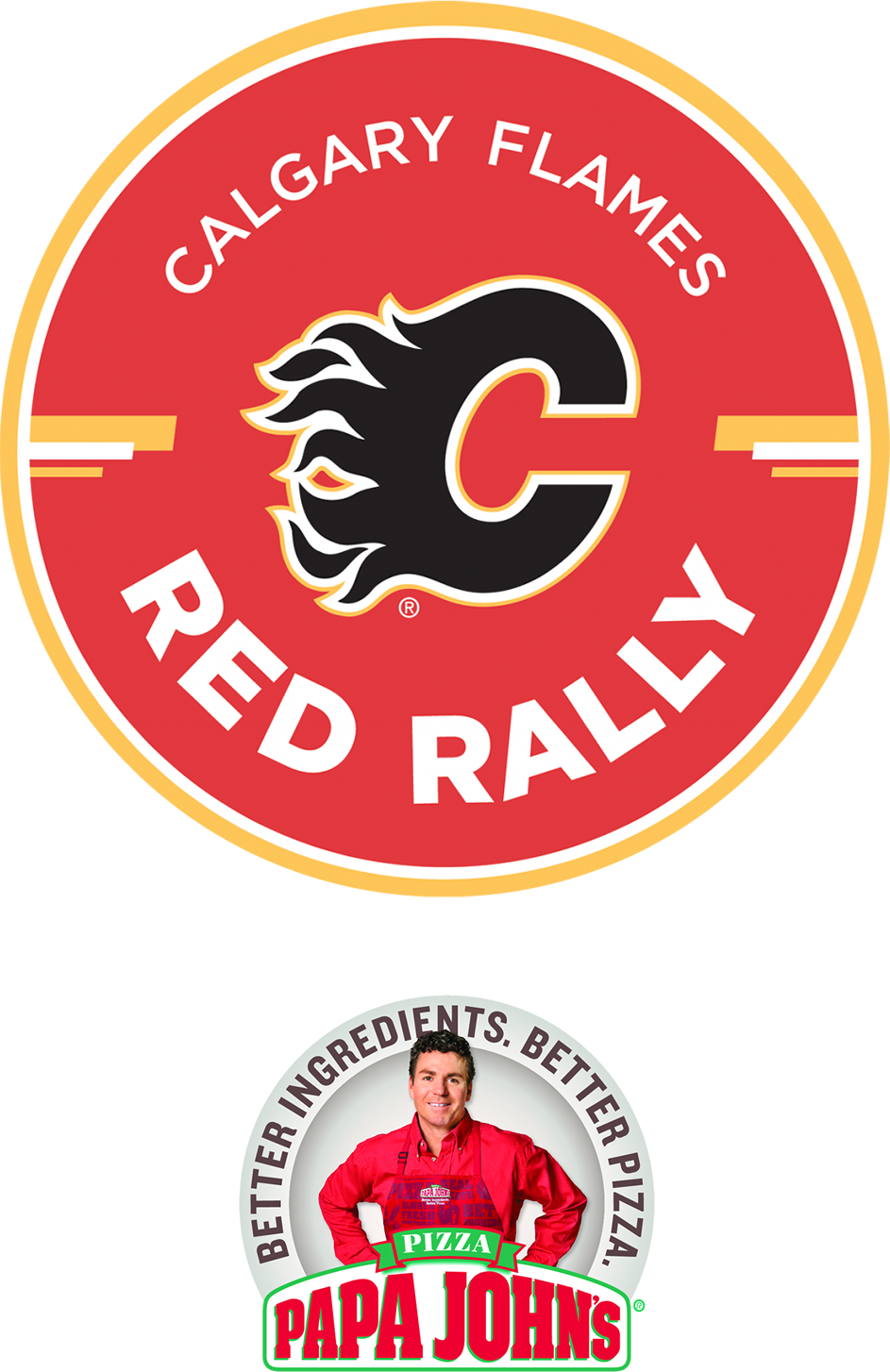 Flames Red Rally